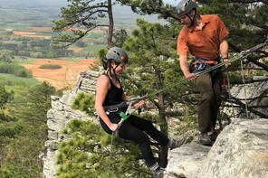 Introduction to Outdoor Climbing in Pisgah National Forest