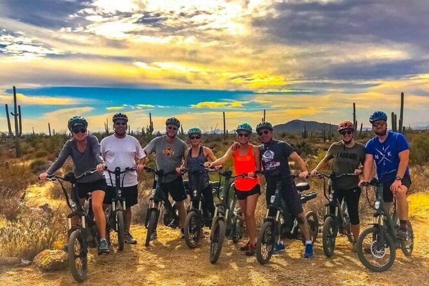 Show item 2 of 8. 2-Hour Arizona Desert Guided E-Bike Tour
