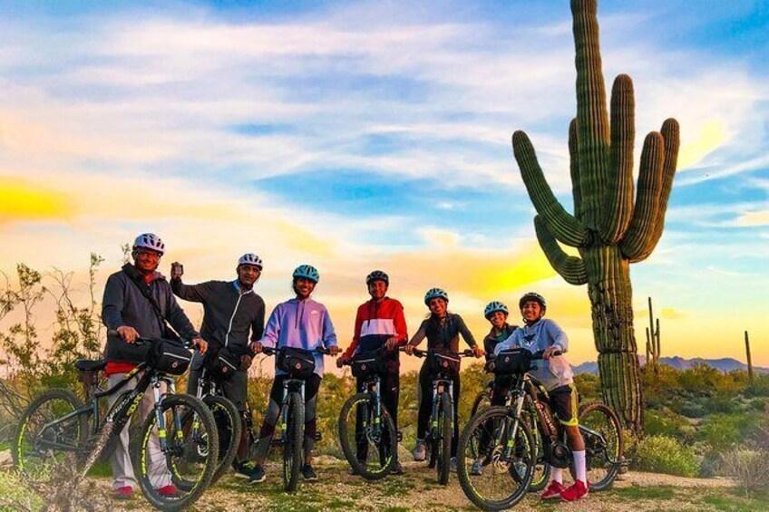 Show item 3 of 8. 2-Hour Arizona Desert Guided E-Bike Tour