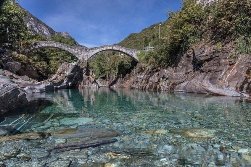 Verzasca valley & Ticino river private guided tour
