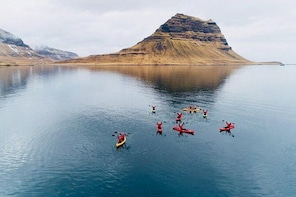 Classic Kayaking Adventure by Mt. Kirkjufell