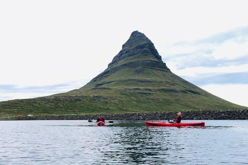 Show item 2 of 7. Classic Kayaking Adventure by Mt. Kirkjufell