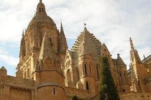 Salamanca with capital letters, monumental, hisorical-artistical. billingua...