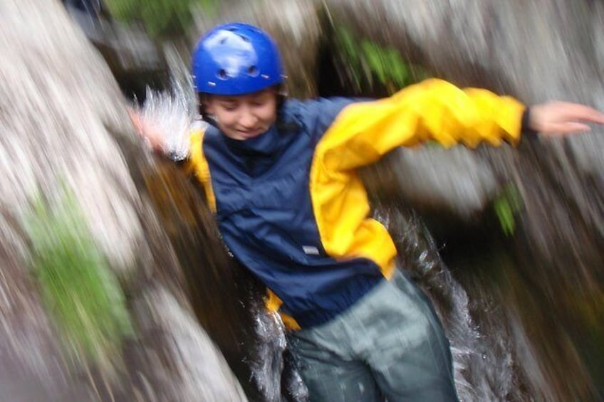 Show item 2 of 9. Ghyll Scrambling, Keswick, Lake District