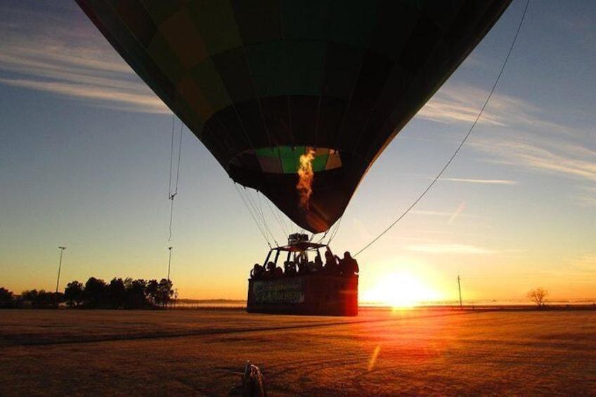 Show item 1 of 10. Hot air balloon - Tasmania region