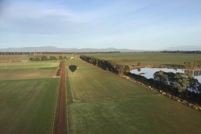 Show item 2 of 10. Hot air balloon - Tasmania region