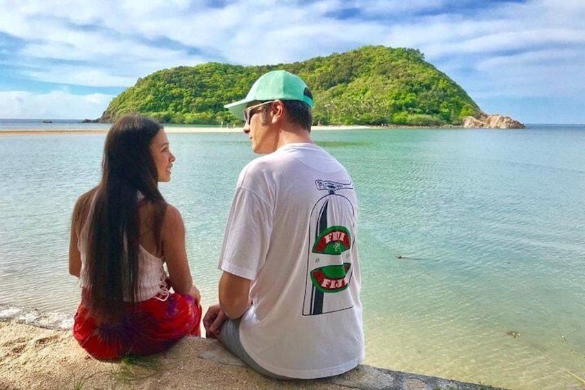 sweet couple at Koh Ma