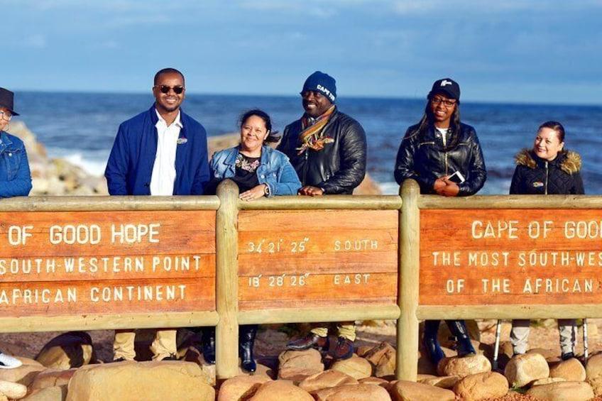 Cape of Good Hope name board