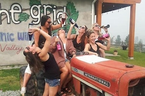 Bachelorette Wine Tours - West Kelowna Wine Tour- 3 hrs.