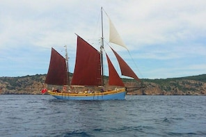 Andrea Jensen Sailing Day Cruise on a traditional ship, lunch and wines inc...