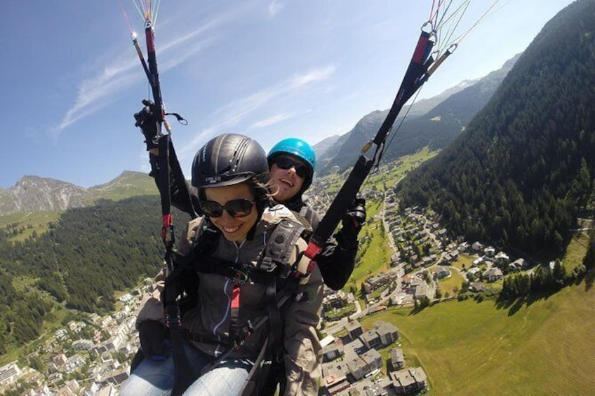 Show item 5 of 11. Davos Paragliding Private Tandem Pilot Half Day