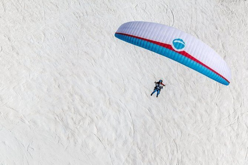 Show item 5 of 11. Klosters Tandem Paragliding Flight from Gotschna