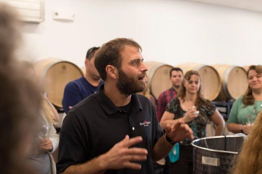 Show item 1 of 9. Meet the Winemakers - Winery Tour