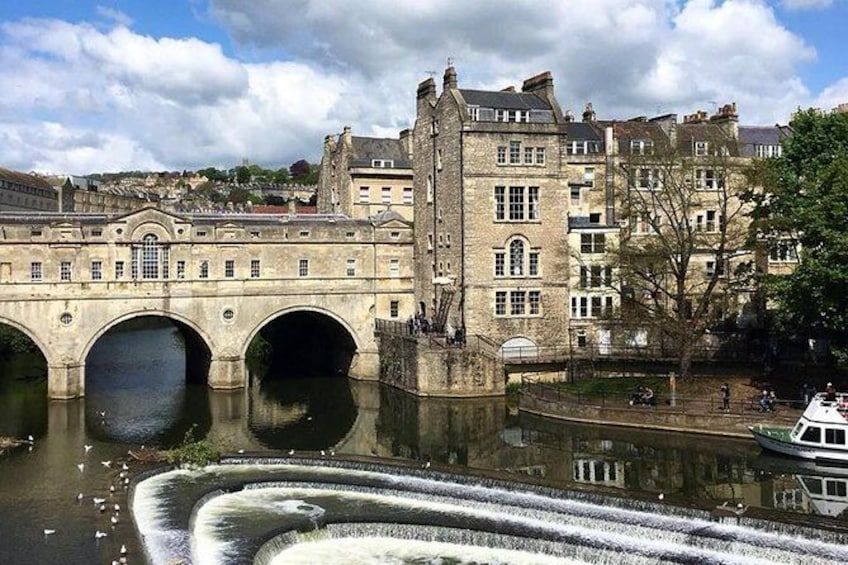 Show item 1 of 8. BATH: Walking Tour with Blue Badge Tour Guide (90 Minutes)