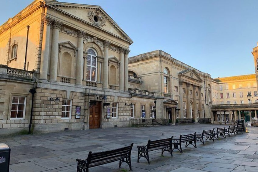 Show item 5 of 8. BATH: Walking Tour with Blue Badge Tourist Guide (90 Minutes)