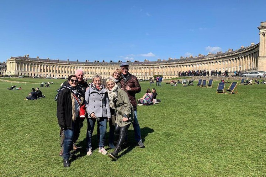 Show item 2 of 8. BATH: Walking Tour with Blue Badge Tourist Guide (90 Minutes)