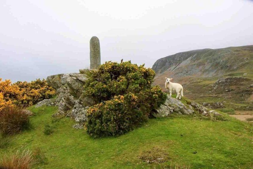 Early-Christian Standing Stone, Glencolmcille