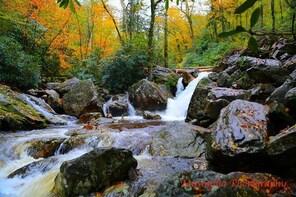 Hiking Tour of Blue Ridge Parkway Waterfalls.
