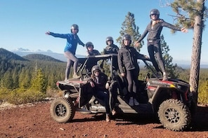 Small-Group ATV Tour in Bend Badlands