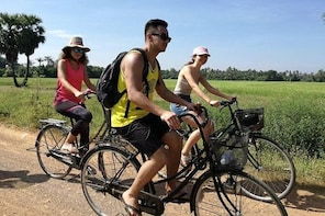 Half day morning bicycle tour to Explore local livelihood and test local sn...
