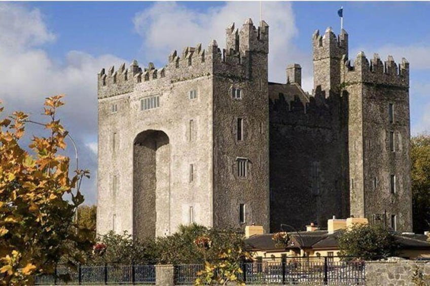 Show item 3 of 3. Quin Abbey, Craggaunowen and Bunratty Castle