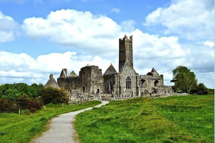 Show item 2 of 3. Quin Abbey, Craggaunowen and Bunratty Castle