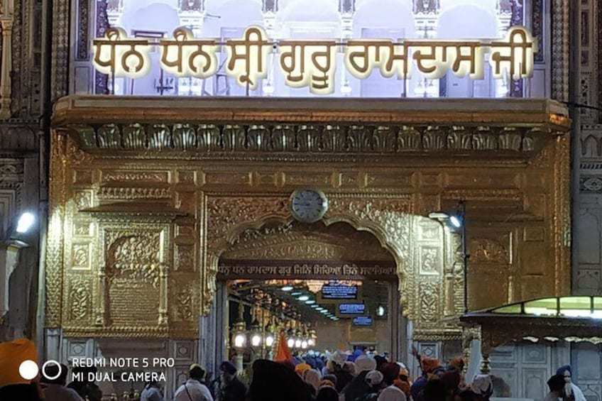 ENTRY GATE OF GOLDEN TEMPLE