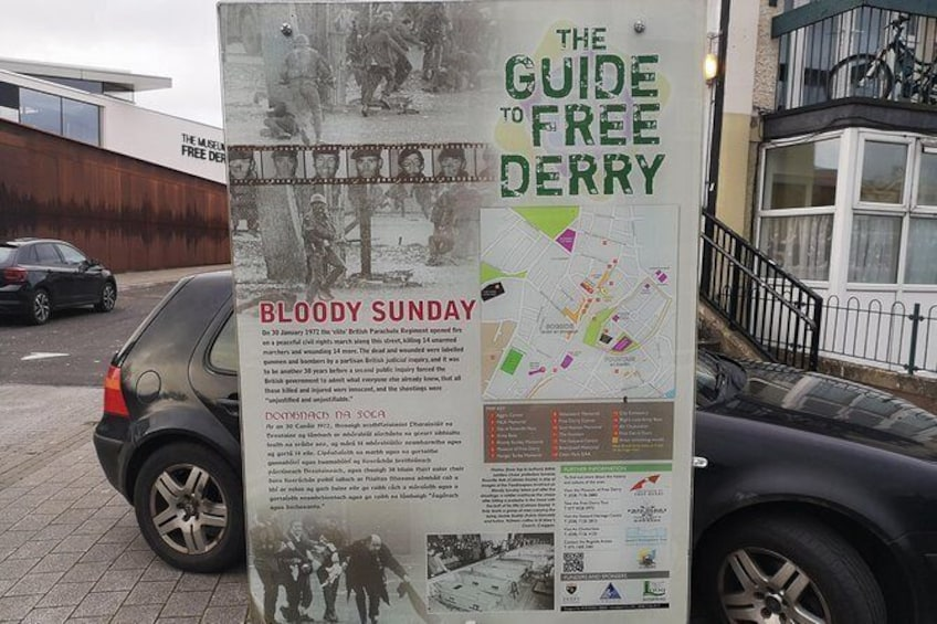 Show item 4 of 18. The Bloody Sunday Story - Private Walking Tour