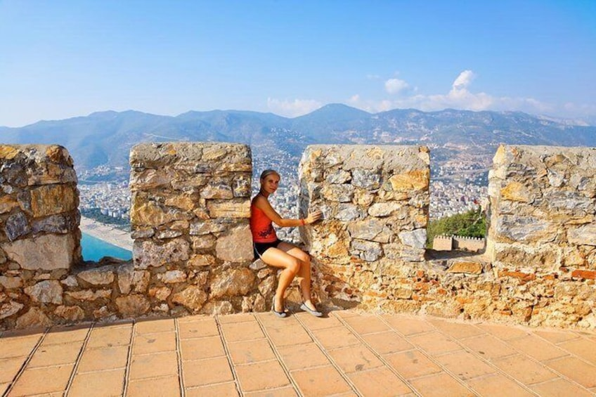 Cable Car and Alanya city tour by jeep