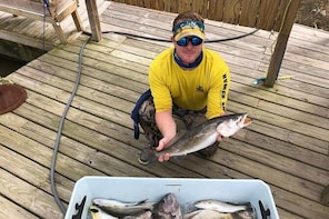 6hr Inshore Fishing Trip from Dauphin Island