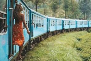 Scenic Train Ride Ella To Horton Plains National Park And Drop Nuwara Eliya