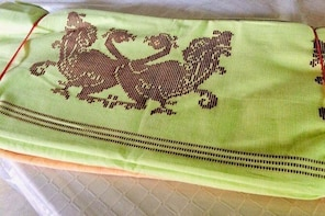 Traditional handloom factory visit.