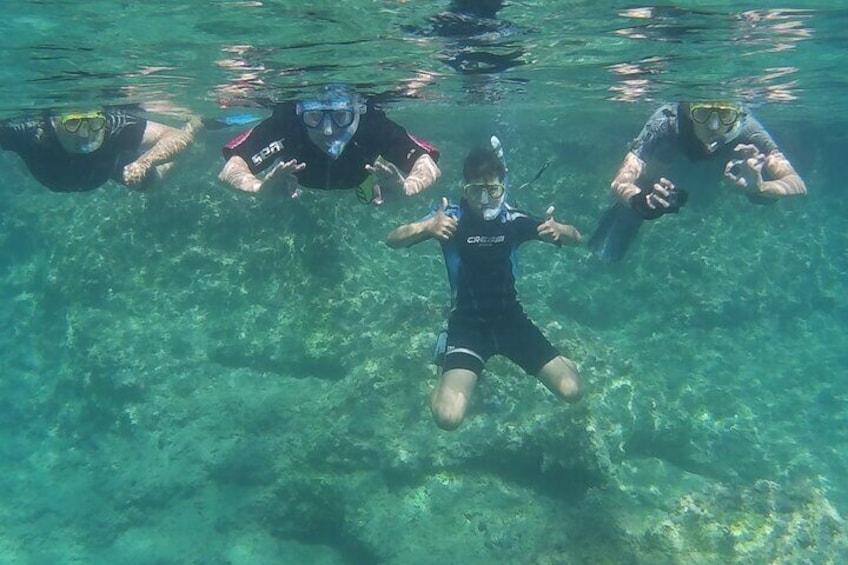 Fun underwater activity
