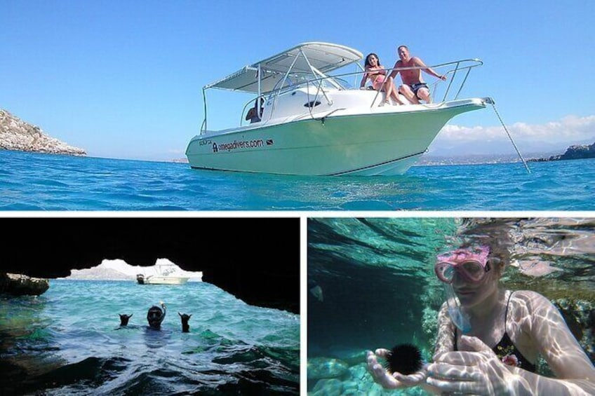 Boat Trip and Snorkeling Tour in Chania