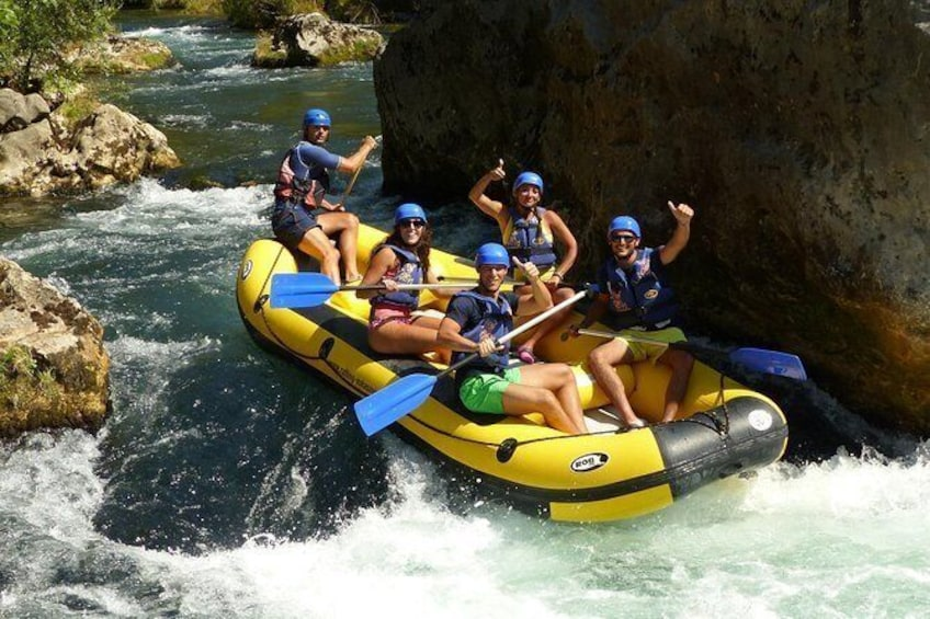 Rafting Experience on the Cetina River
