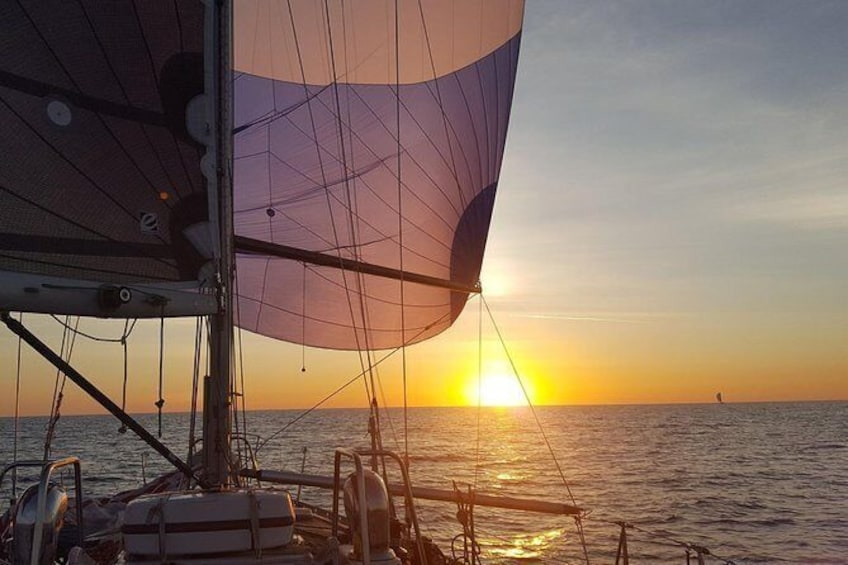 Show item 9 of 9. Private Sunset Sail on the East Coast of Puerto Rico