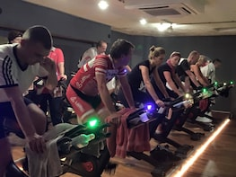 Varied spinning class at Bodyconditioning Utrecht