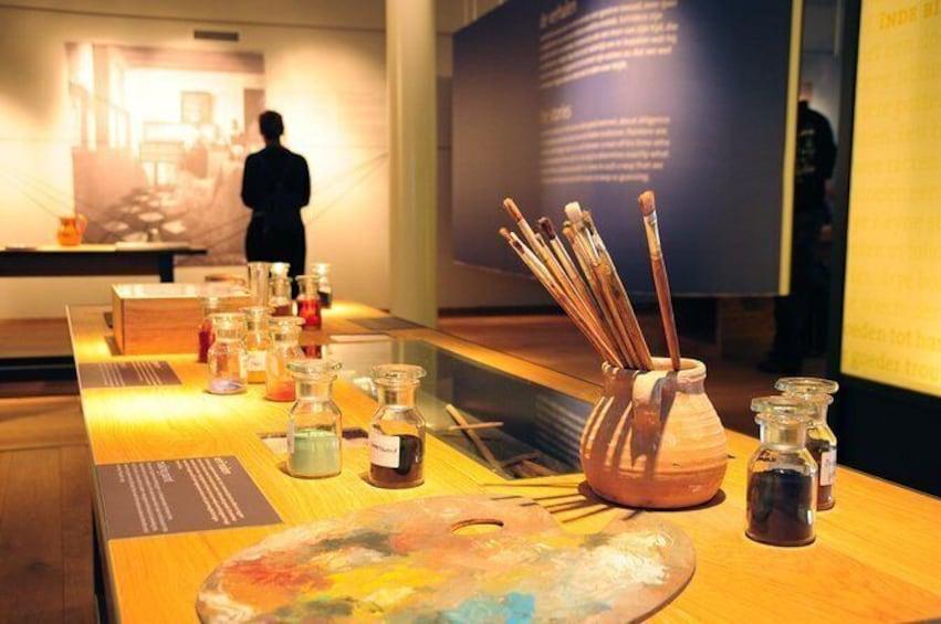 Visit the studio of Vermeer