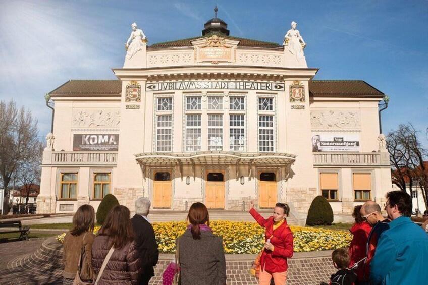 Show item 5 of 7. Theater in Klagenfurt