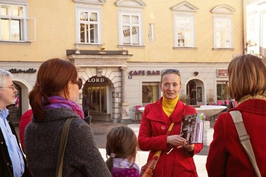 Show item 3 of 8. City tour in Klagenfurt