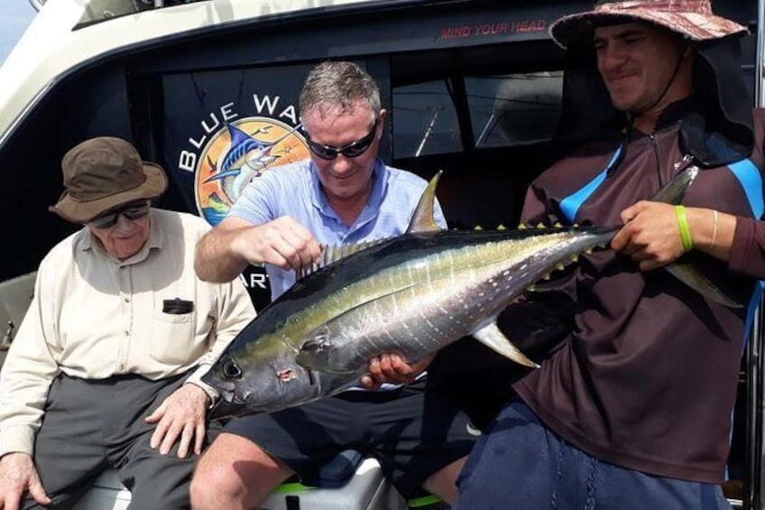 Show item 3 of 10. Durban - Private Trip - 5hrs Deep Sea Fishing on a 34ft Sport Fisher