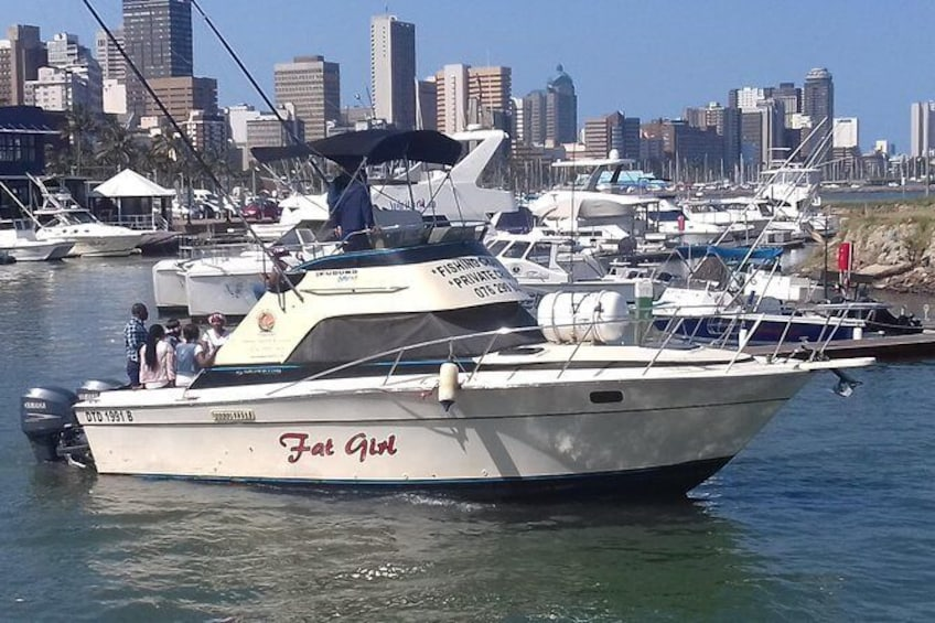 Show item 10 of 10. Durban - Private Trip - 5hrs Deep Sea Fishing on a 34ft Sport Fisher