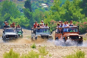 Alanya Jeep Safari with Dim River Lunch and Dim Cave