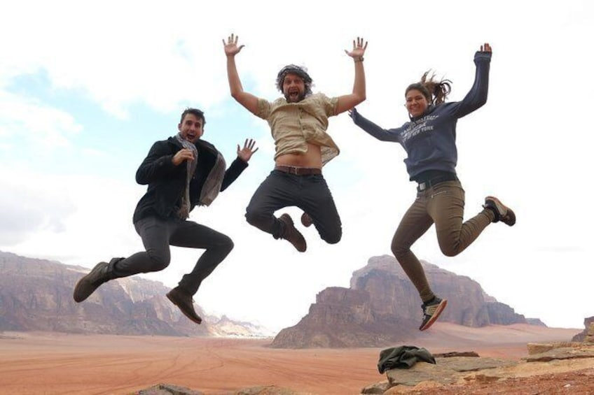 Show item 1 of 8. Wadi Rum 2, 3, 4 or 5 hour Jeep Tours with Bedouin Guide