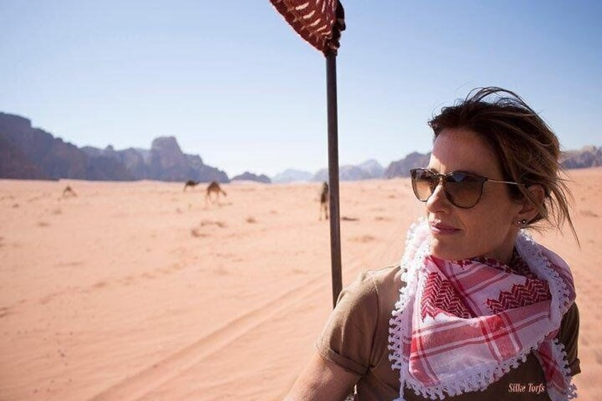 Show item 3 of 8. Wadi Rum 2, 3, 4 or 5 hour Jeep Tours with Bedouin Guide