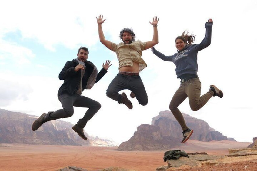 Show item 5 of 8. Wadi Rum 2, 3, 4 or 5 hour Jeep Tours with Bedouin Guide