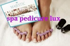 Spa pedicure lux