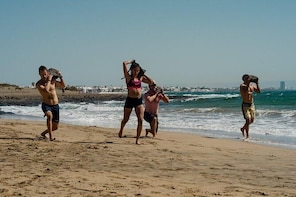 Beach Gym, Volcanic Rim, Snorkel Swim Tour