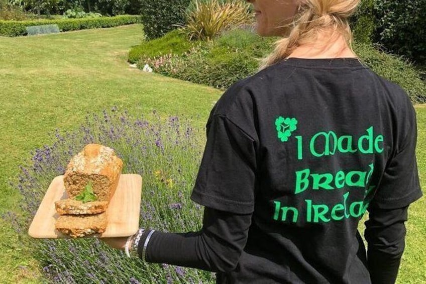 Show item 2 of 10. I Made Bread in Ireland tee