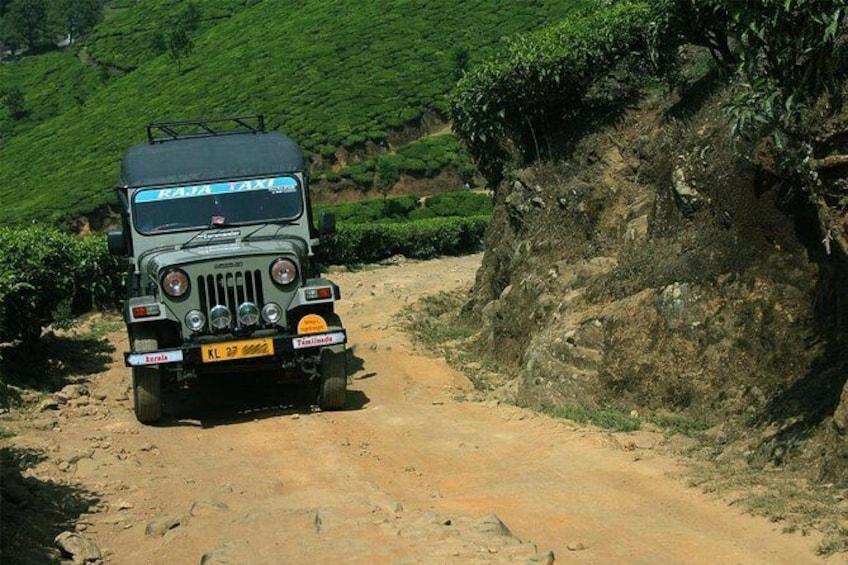 kolukkumalai Munnar Jeep Safari